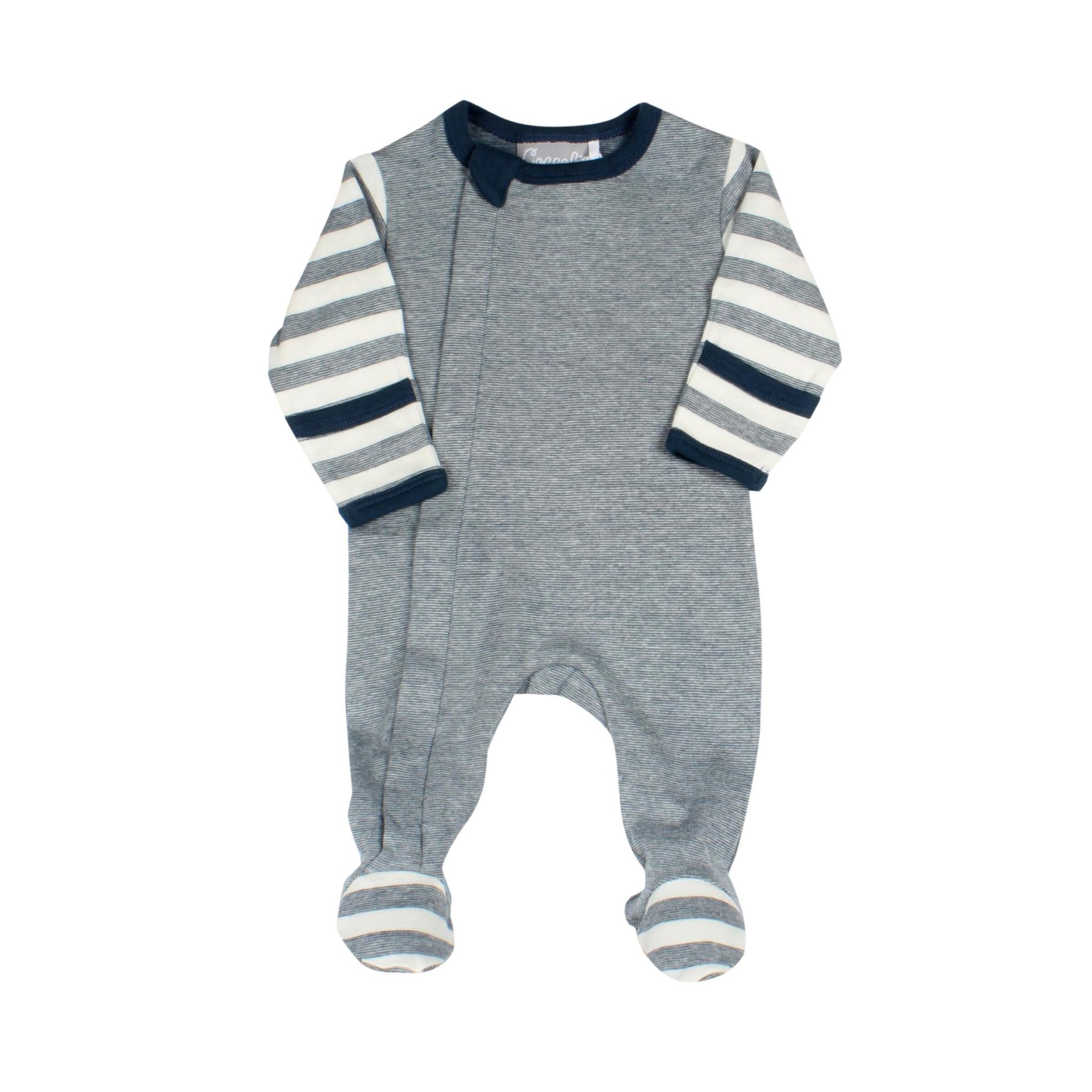 Pyjama Zipper - Combo Bleu-1