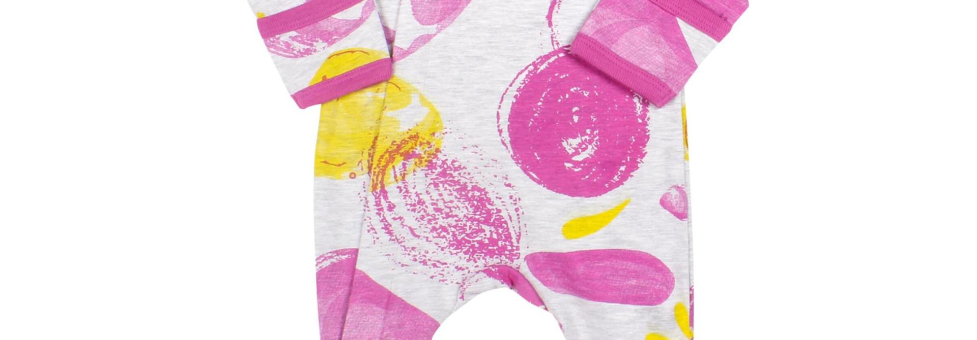 Pyjama Zipper - Tempête Rose