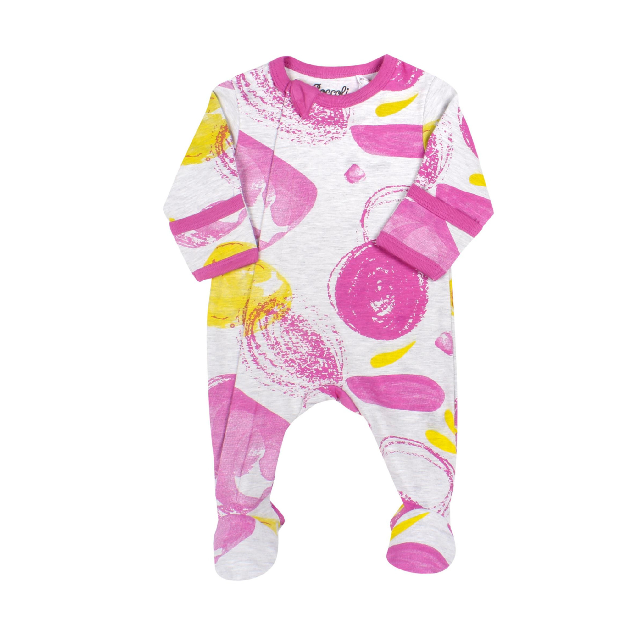Pyjama Zipper - Tempête Rose-1