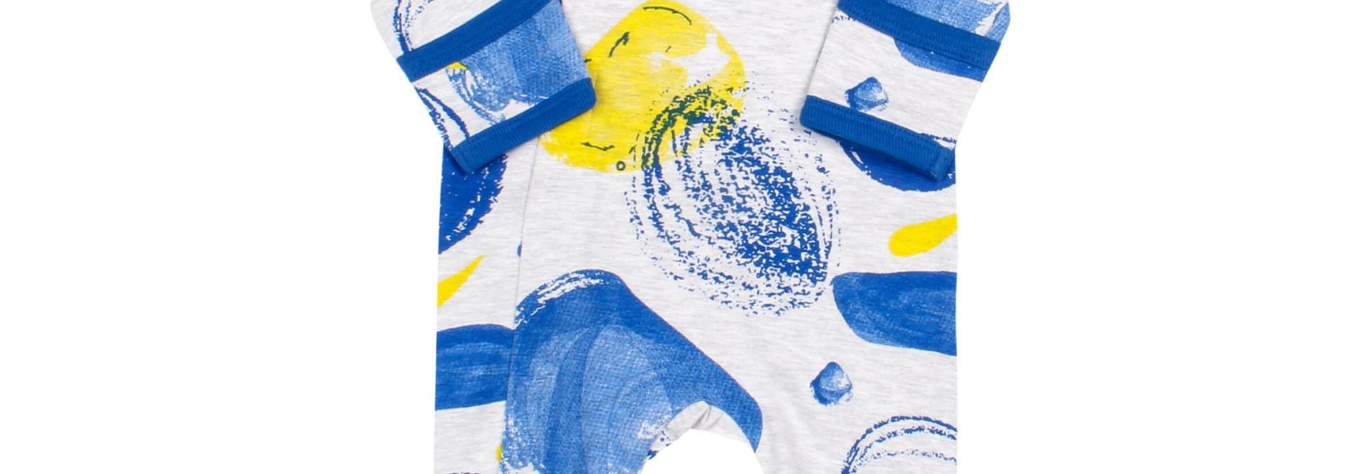 Pyjama Zipper - Tempête Bleu