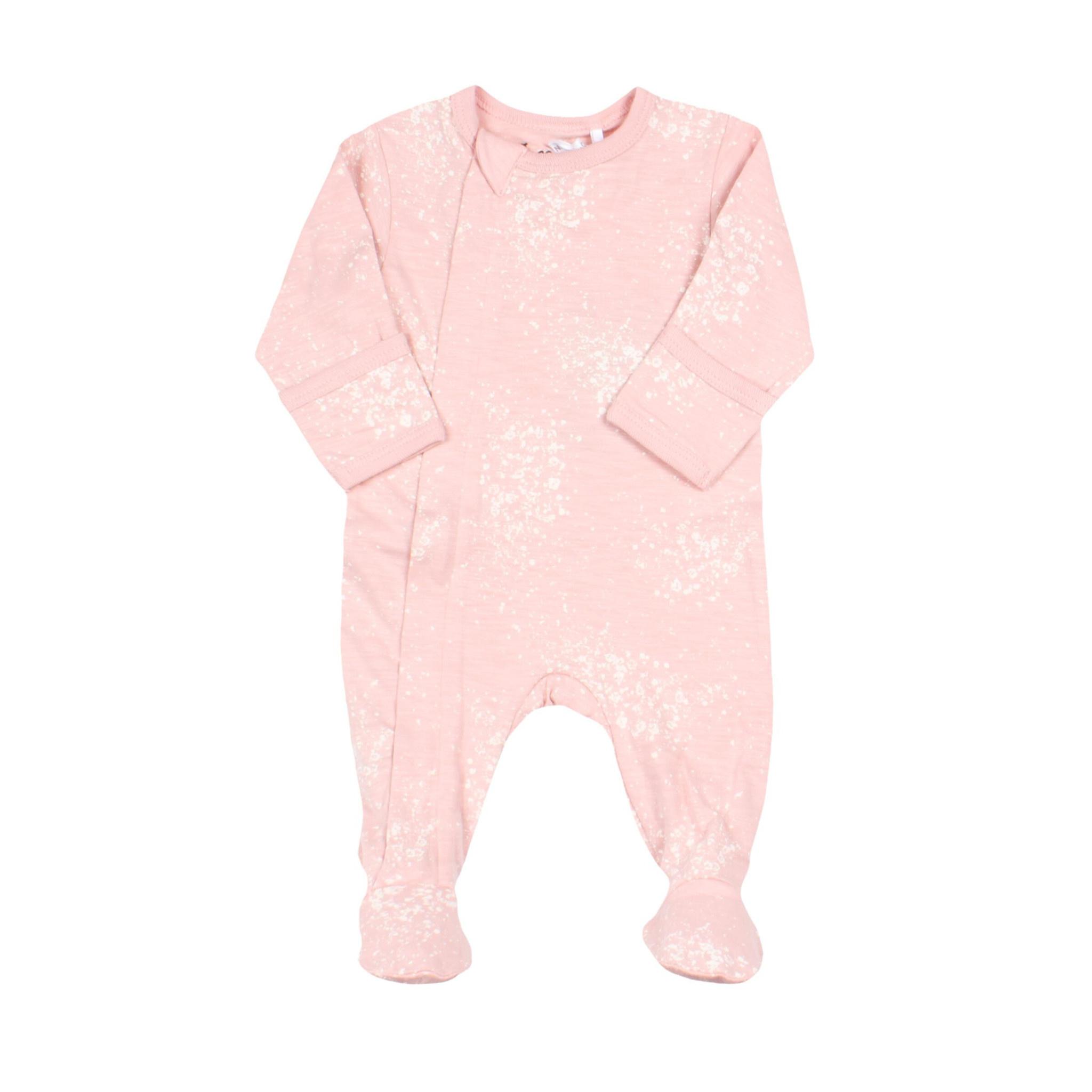 Pyjama Zipper - Bulles Rose-1