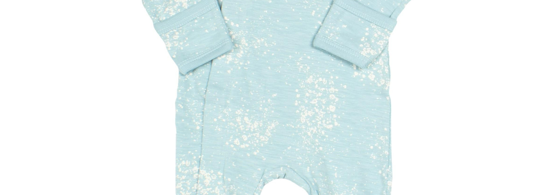 Pyjama Zipper - Bulles Bleu