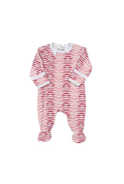 Pyjama Zipper - ZigZag Grenat