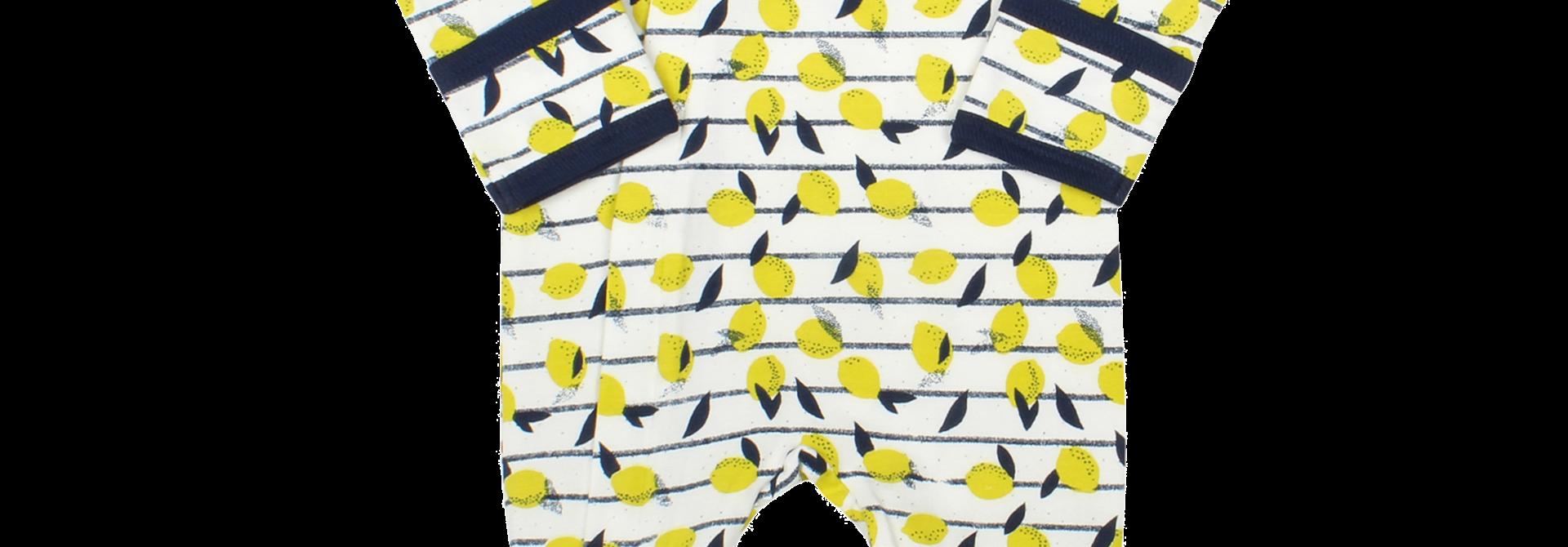 Pyjama Zipper - Limonade Doré