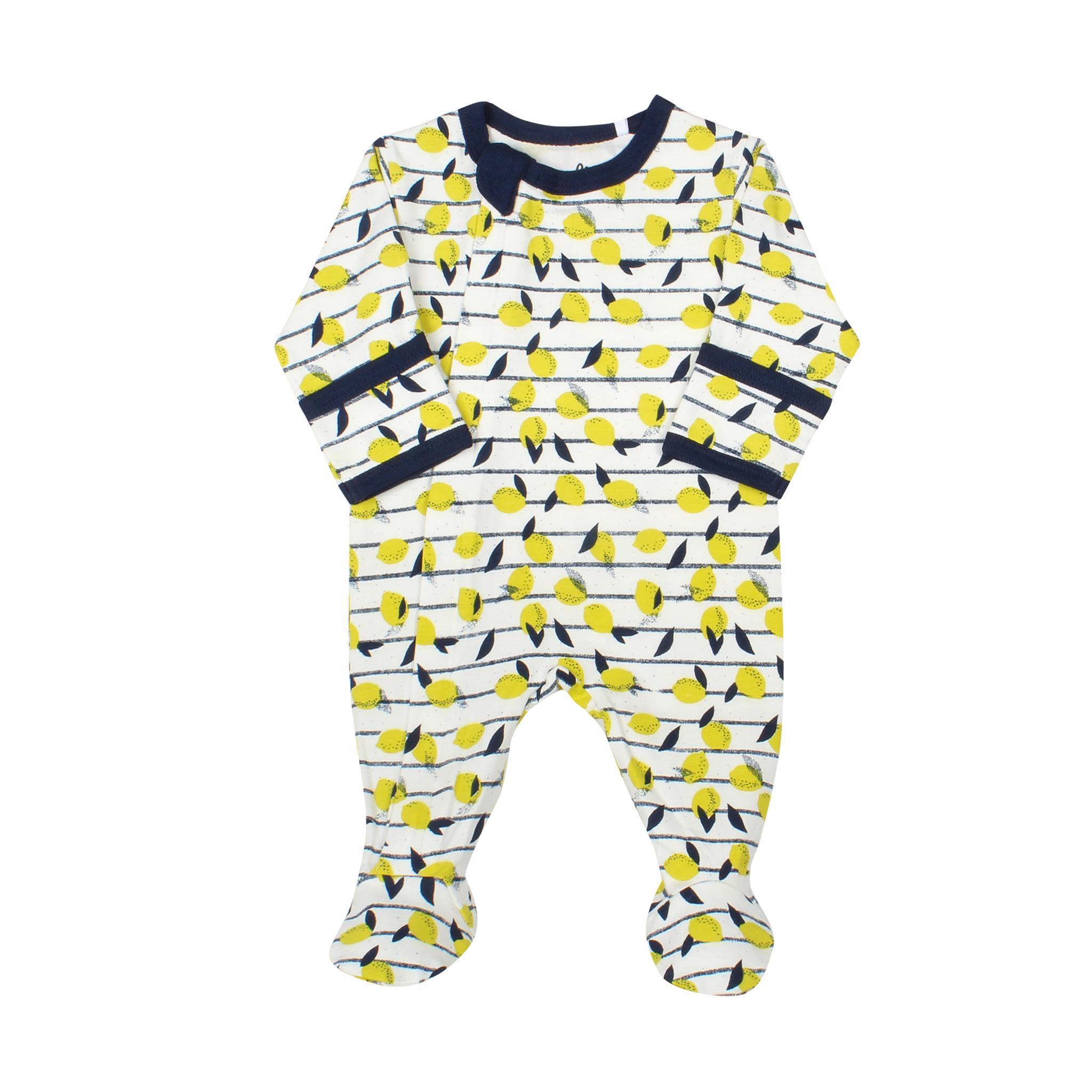 Pyjama Zipper - Limonade Doré-1
