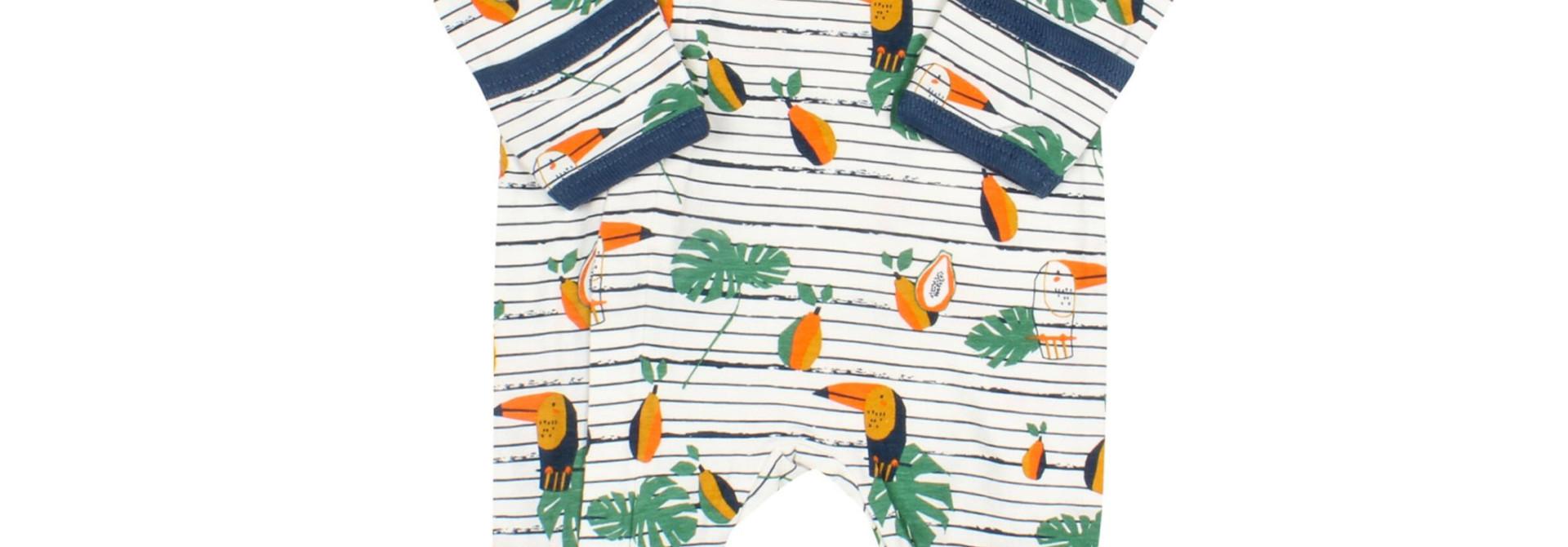 Pyjama Zipper - Toucans