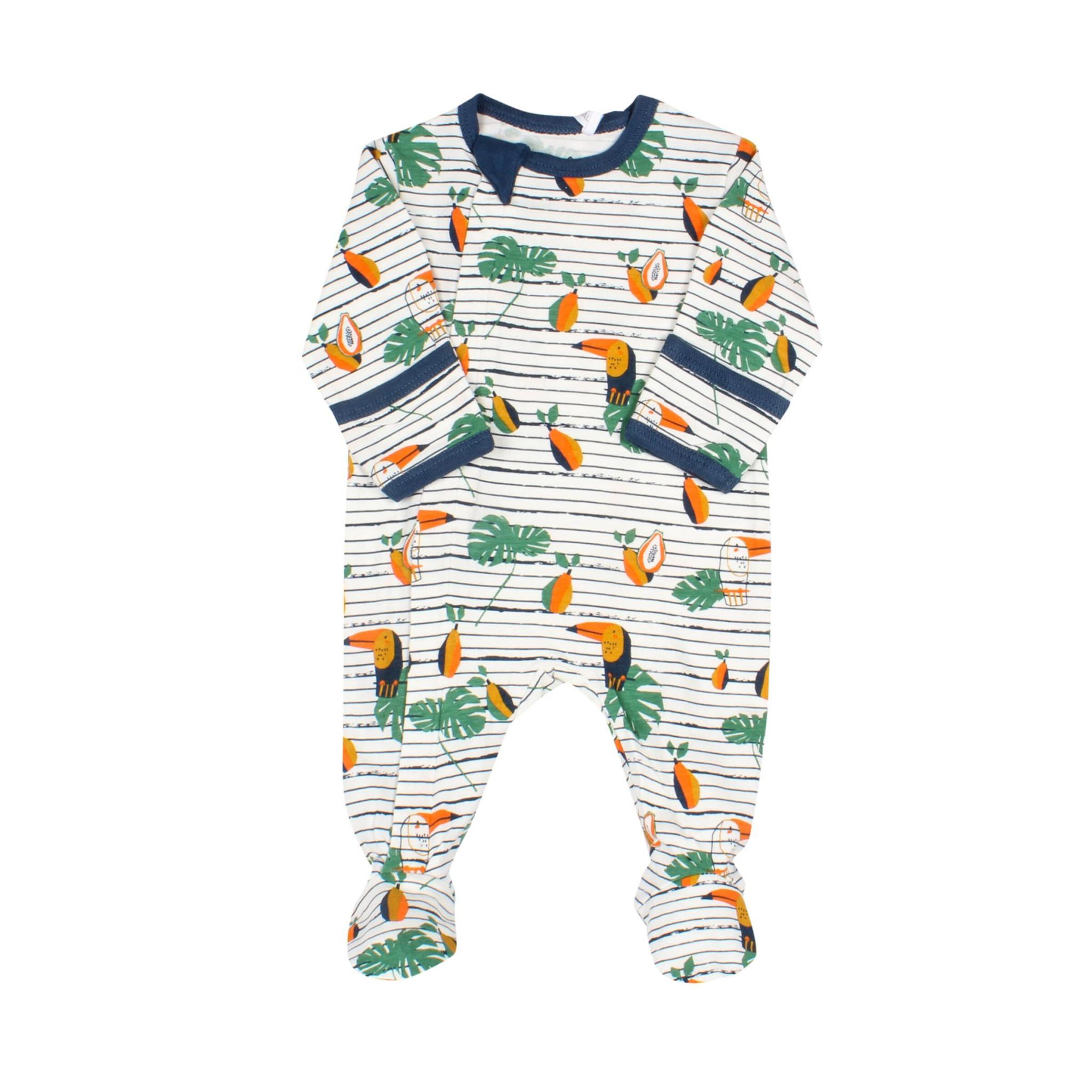 Pyjama Zipper - Toucans-1