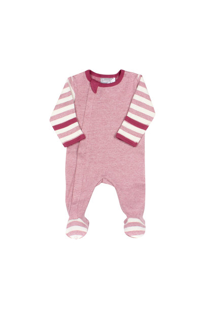 Pyjama Zipper - Combo Grenat