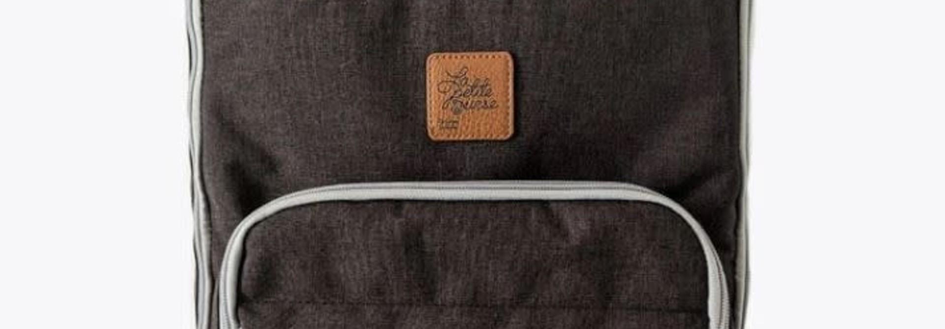 Sac à dos SIGNATURE pour couches - Noir