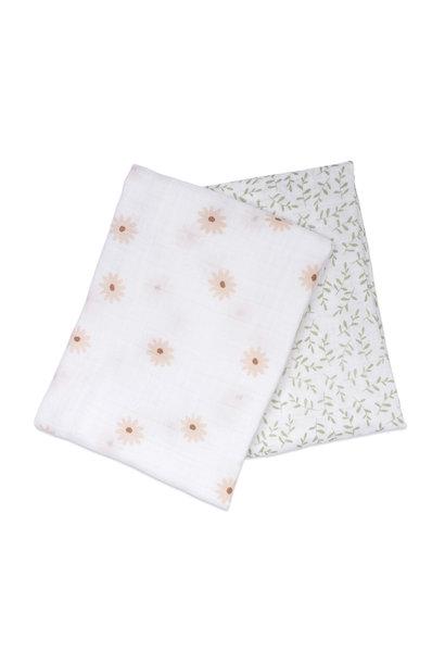 Mousseline de coton(2) - Daisy/Brindille