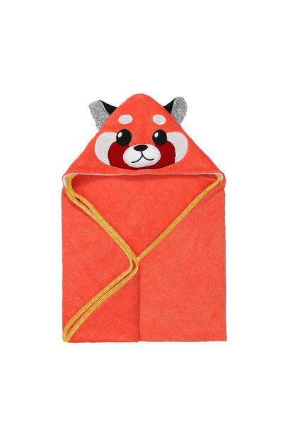 Sortie de bain pour bébés Remi Panda Rouge