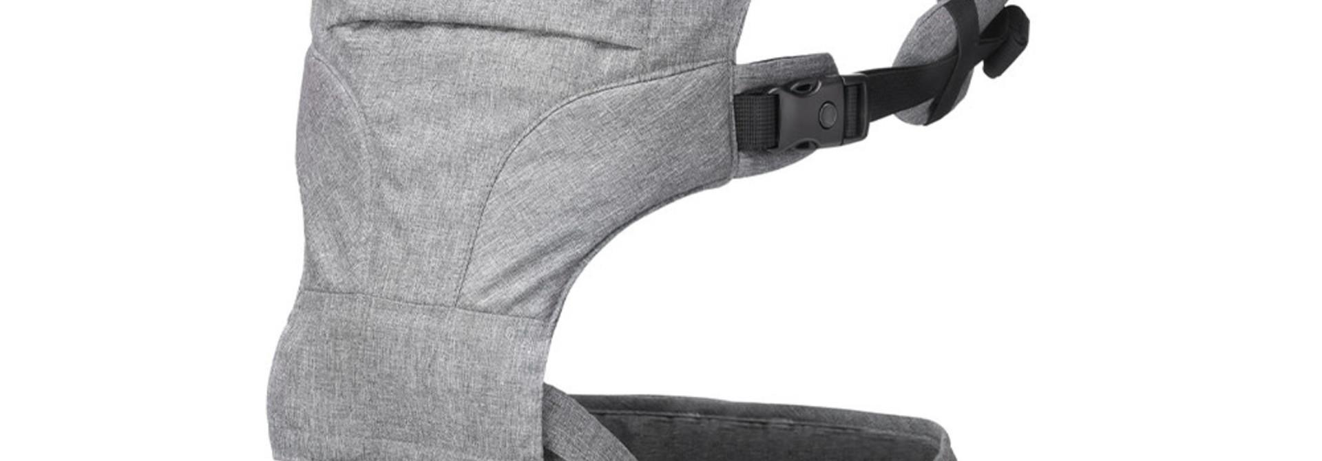 Porte bébé siège de hanche 2 en 1 - Gris