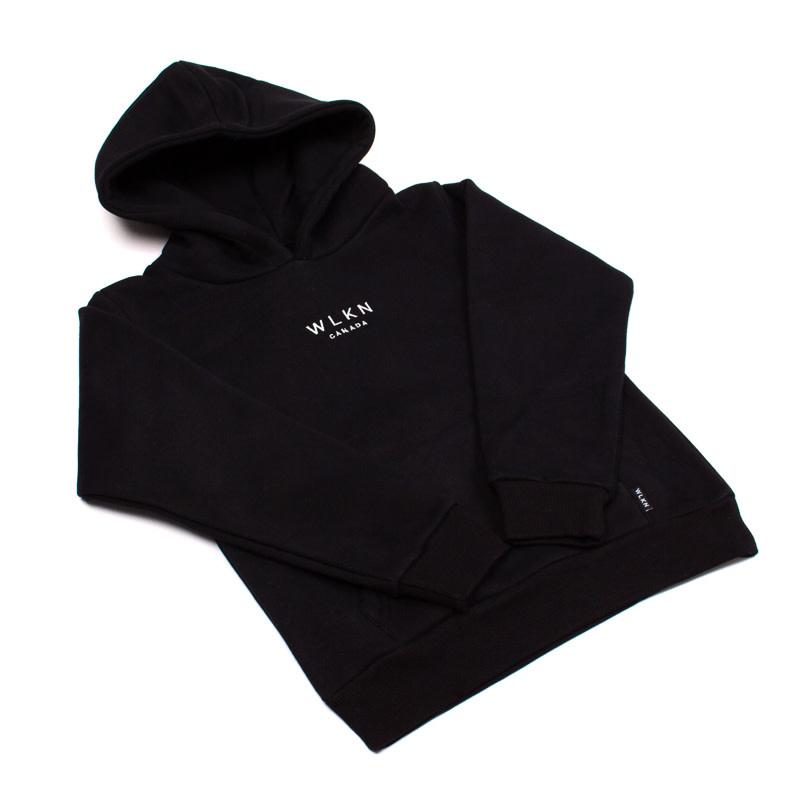 Hoodie Basic Noir-3