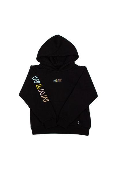 Hoodie Rainbow Noir