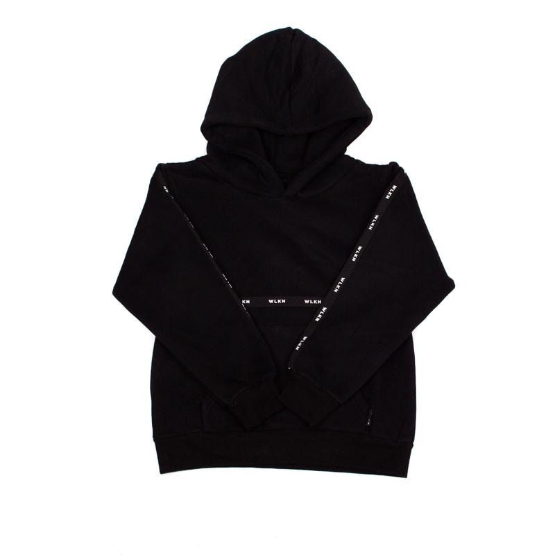 Hoodie Noir Bande-1