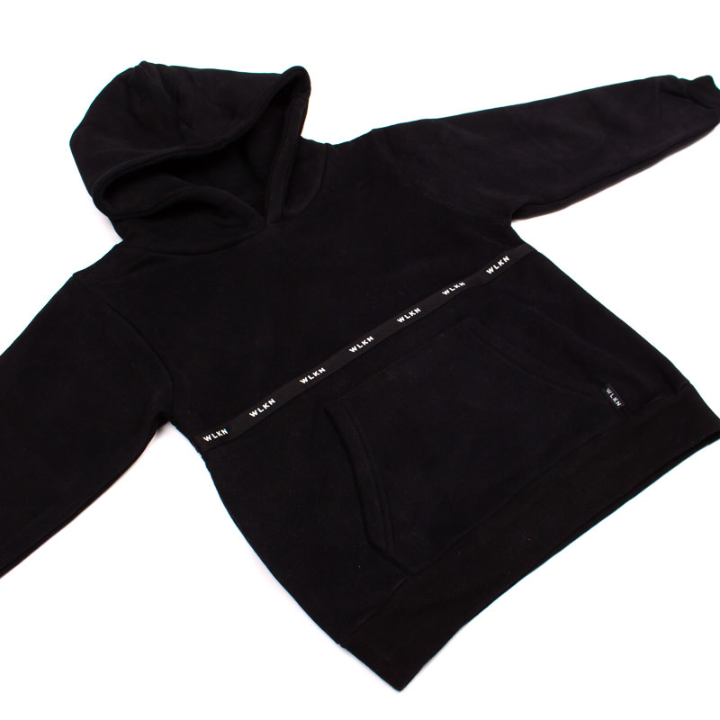 Hoodie Noir Bande-2