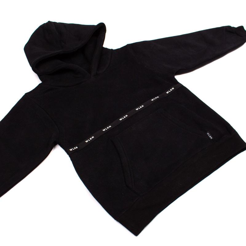 Hoodie Noir Bande-3