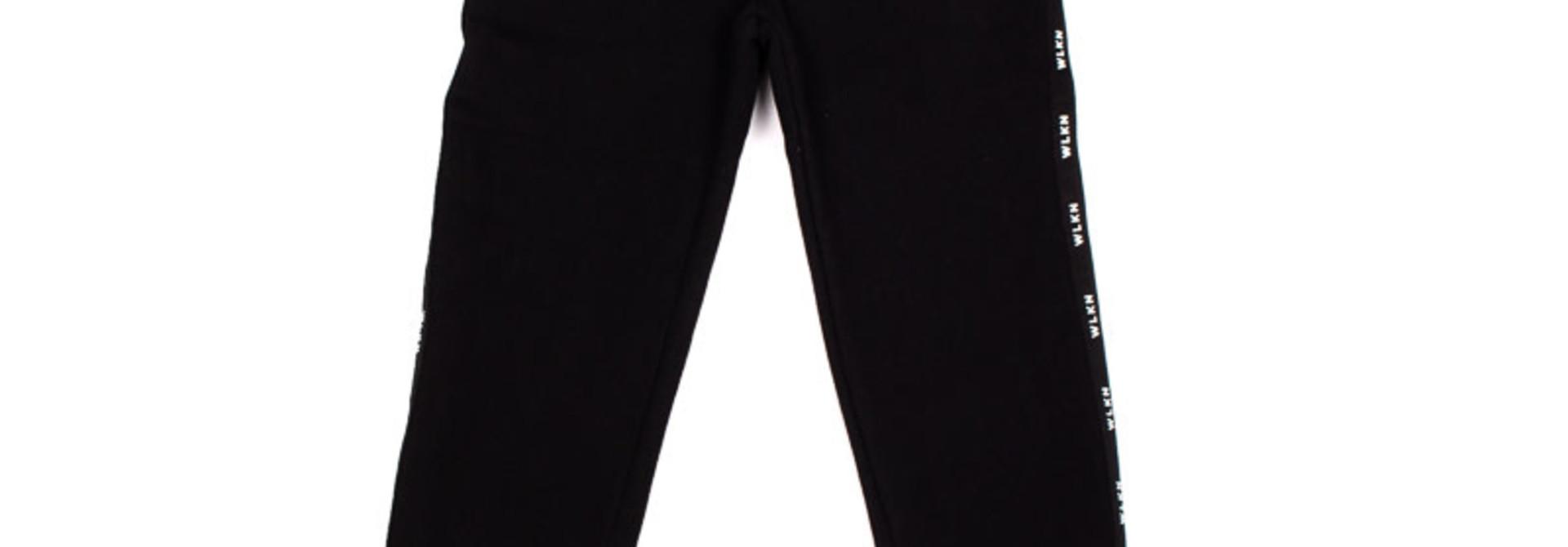 Pantalon Noir Bande