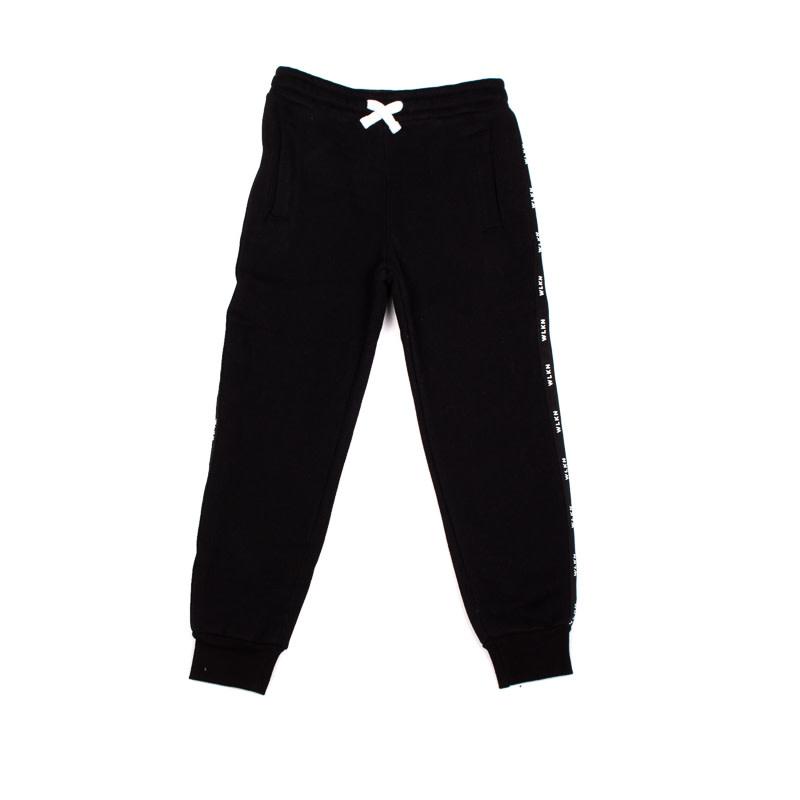 Pantalon Noir Bande-1