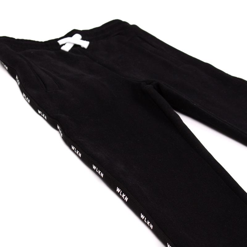 Pantalon Noir Bande-2