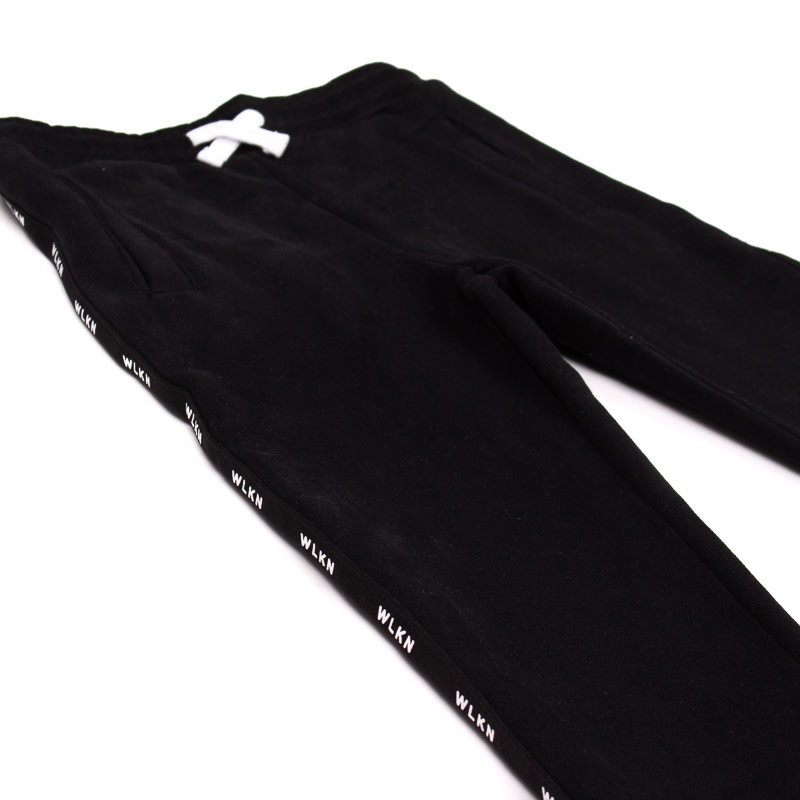 Pantalon Noir Bande-3