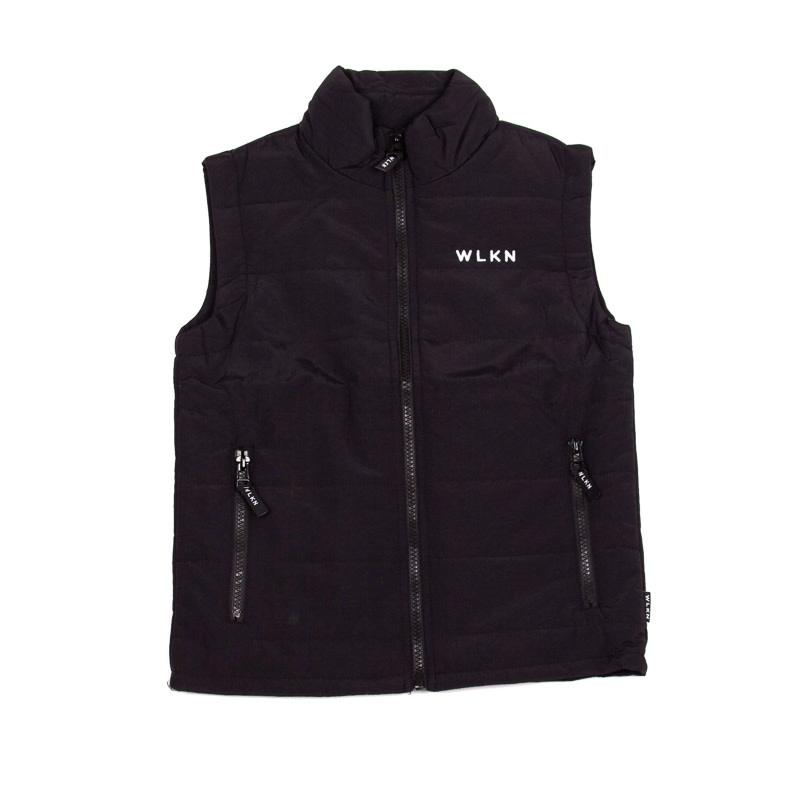 Jacket sans manche Noir-1