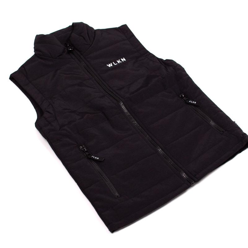Jacket sans manche Noir-2