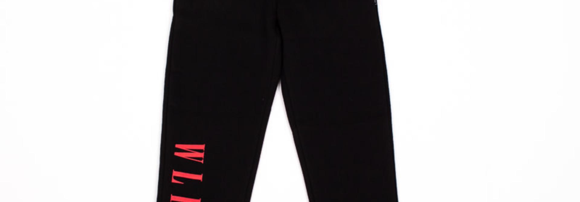 Pantalon Noir-Rose