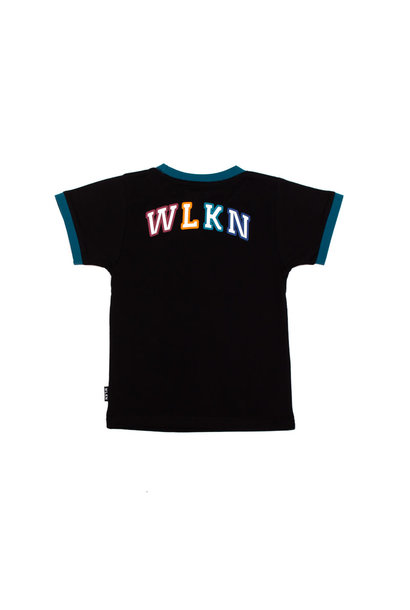 T-Shirt Rainbow Noir