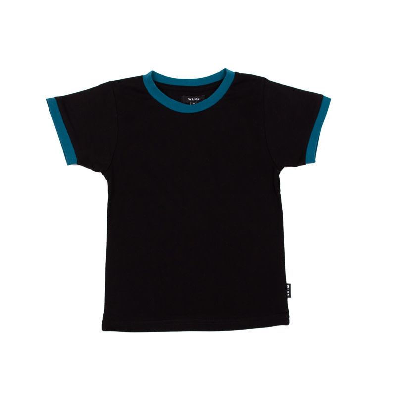 T-Shirt Rainbow Noir-2