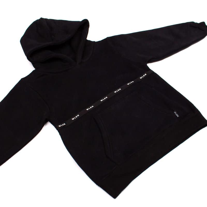 Hoodie Noir Bande-5