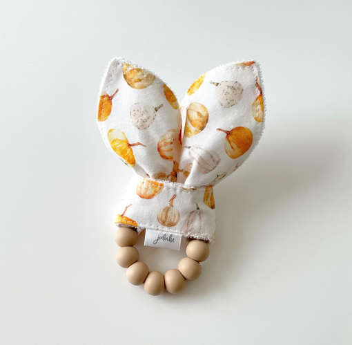 Hochet Oreilles de Lapin - Citrouilles-1