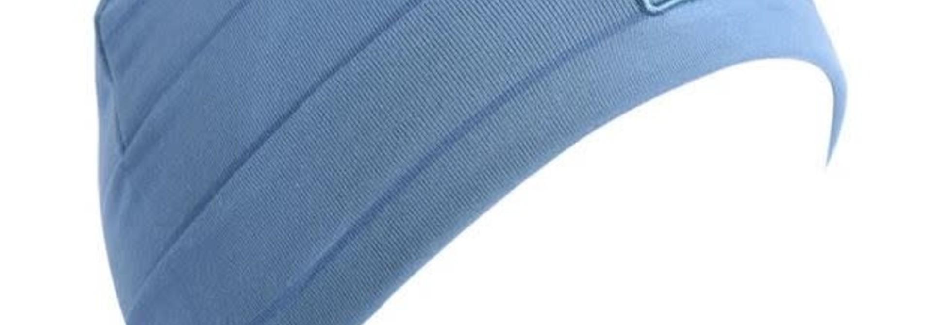 Tuque  Coton - BOSTON V20 Bleu Tendre et Bleu Mer