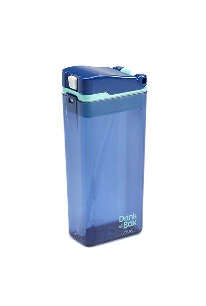 Boîte à jus réutilisable Drink in the Box 12oz Bleu