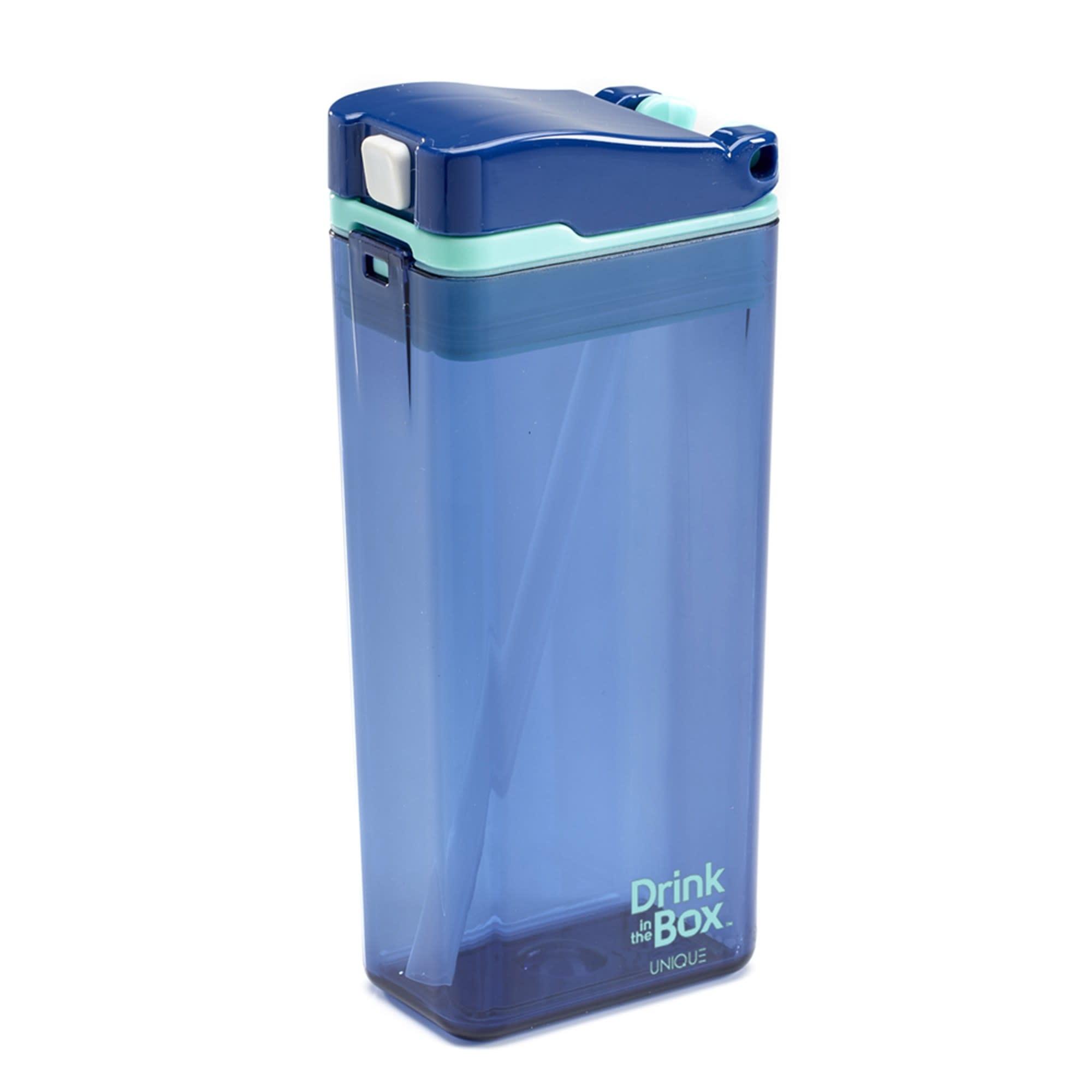 Boîte à jus réutilisable Drink in the Box 12oz Bleu-1