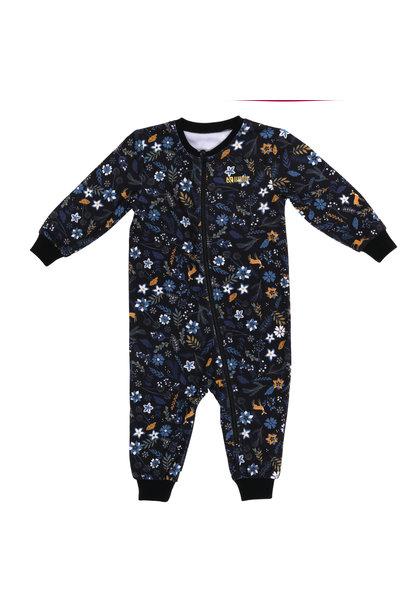Pyjama 1 pièce Mini Chevreuil Fleuris