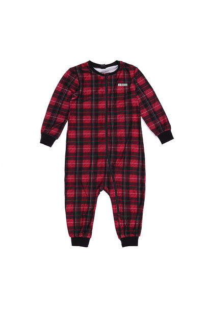 Pyjama 1 pièce Mini Carreaux