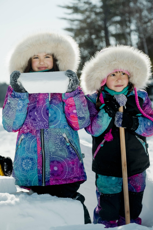 Voir les habits de Neige-1