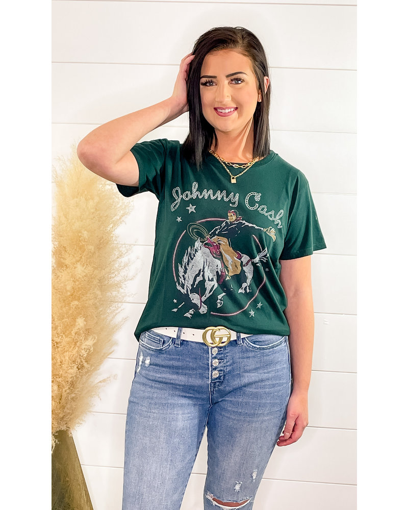 JOHNNY CASH RODEO TEE