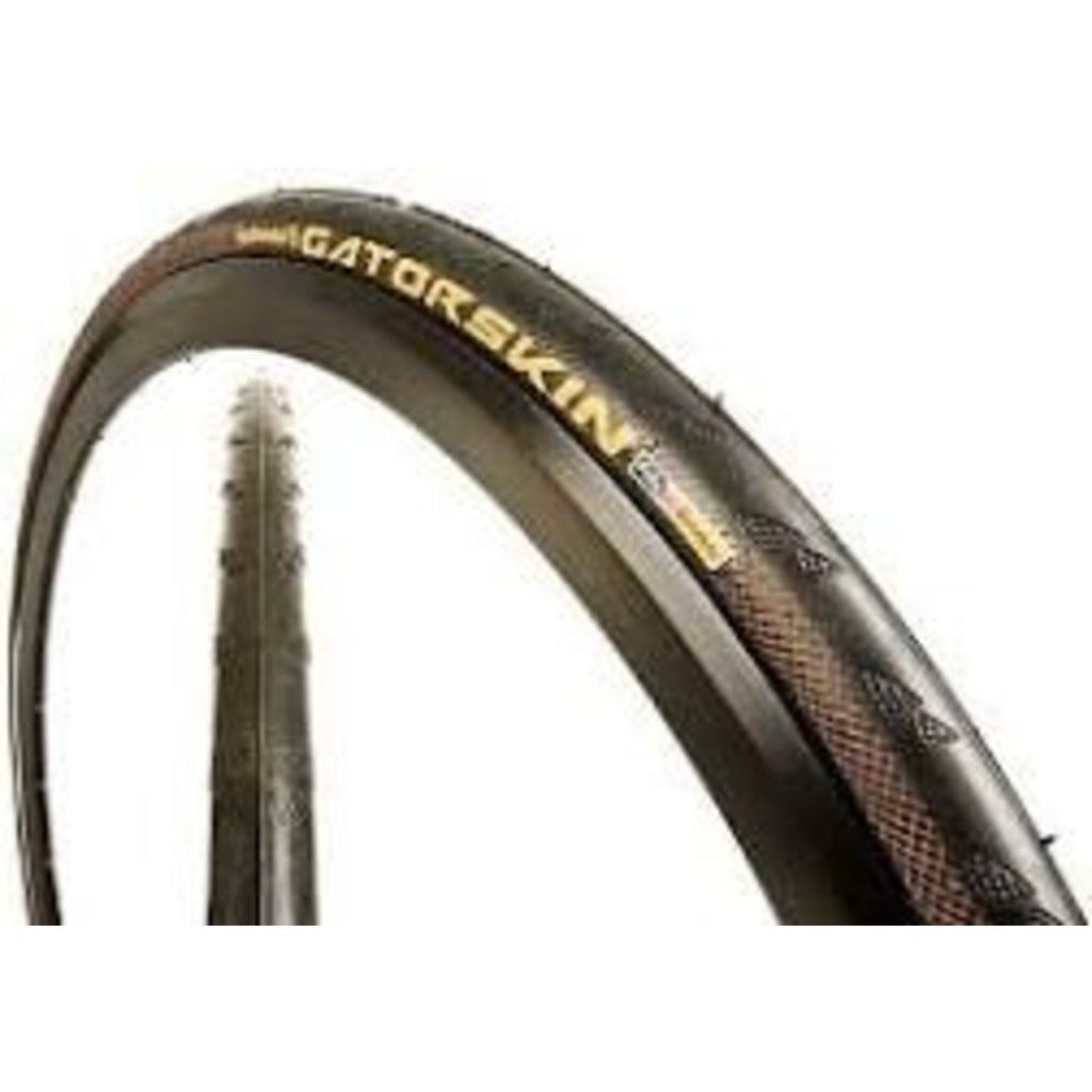 Continental Gatorskin Tire - 700 x 25, Clincher, Wire, Black, 180tpi