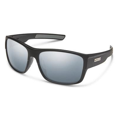 Suncloud Range Matte Black Polar Silver Mirror