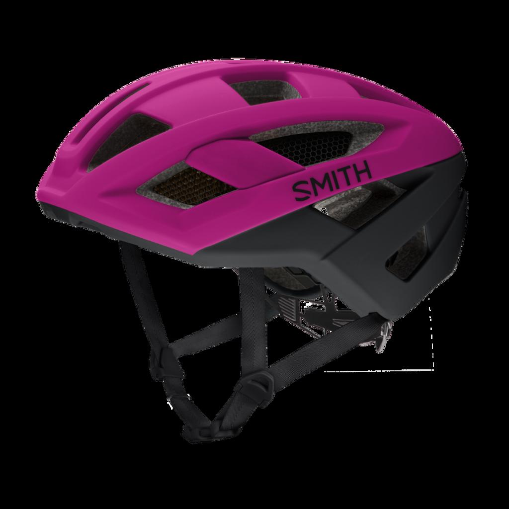 SMITH Route MIPS Bike Helmet: Matte Hibiscus / Black Small