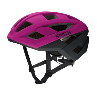 SMITH Route MIPS Bike Helmet: Matte Hibiscus / Black Small