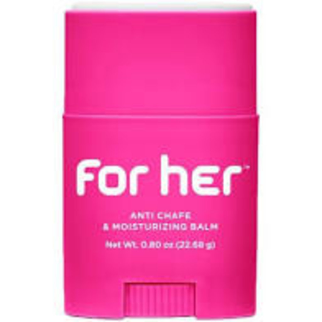 Bodyglide BodyGlide For Her Skin Formula: 0.80oz Applicator, Sold in Case of 24