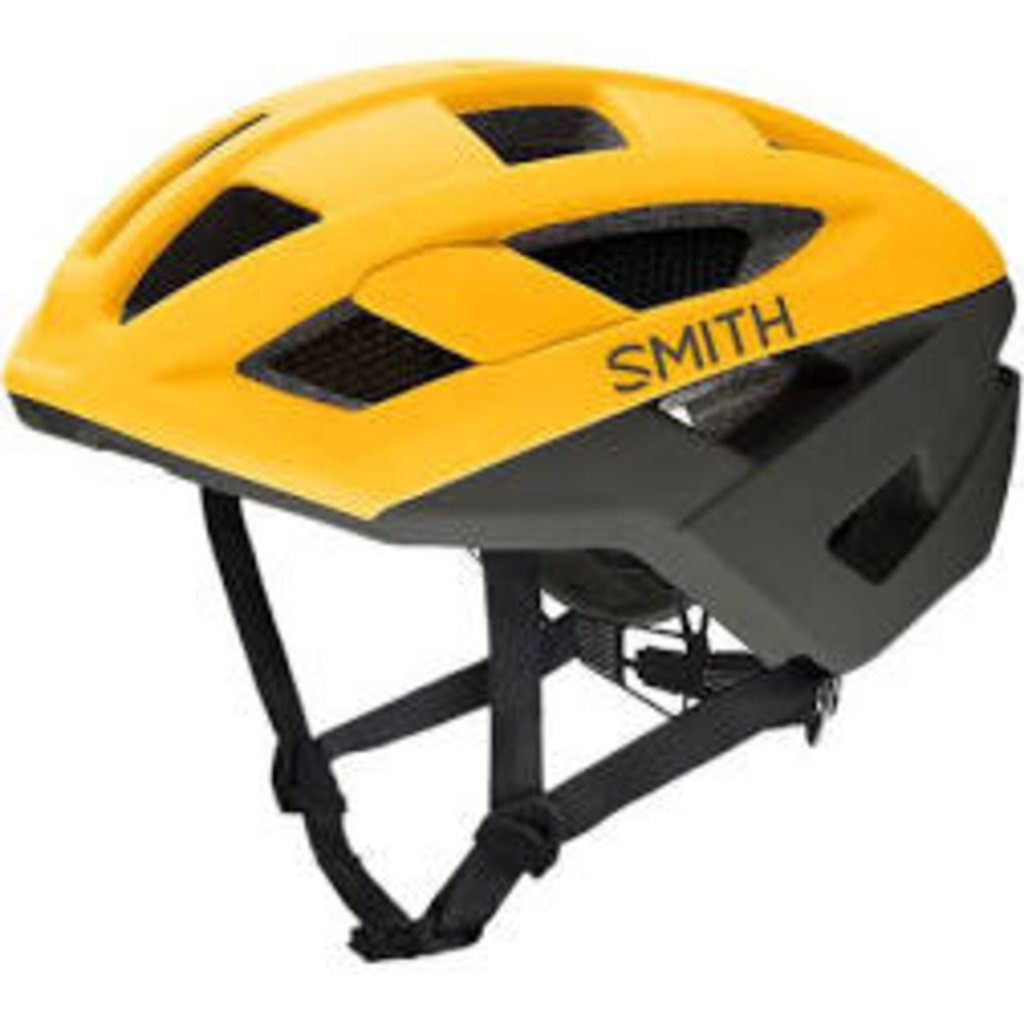 SMITH Route MIPS Bike Helmet: Matte Hornet / Gravy Medium