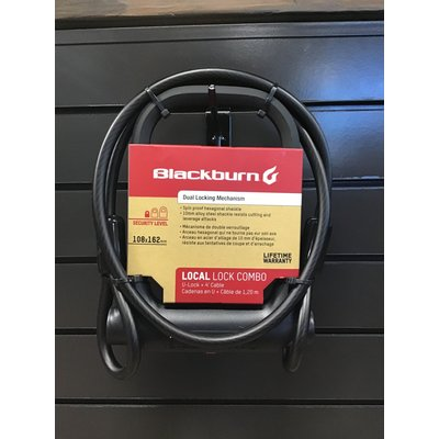 Blackburn LOCAL U LOCK COMPACT + 4' CABLE SET