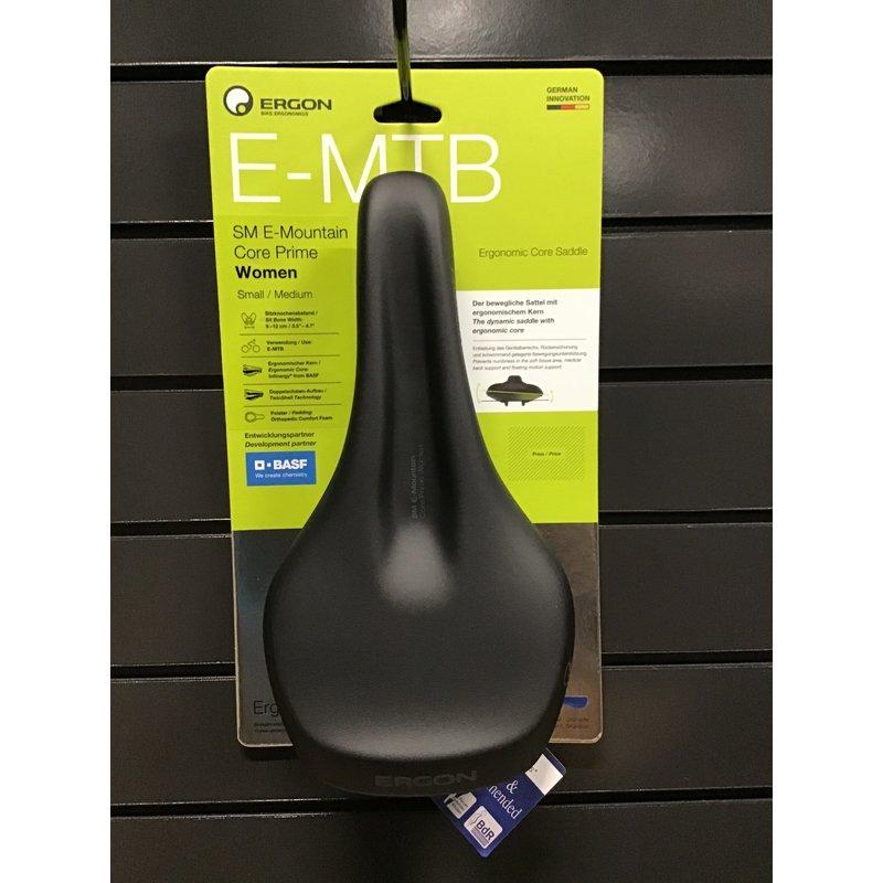 Ergon Ergon SM E-Mountain Core Prime Saddle - Stealth, Womens, Small/Medium