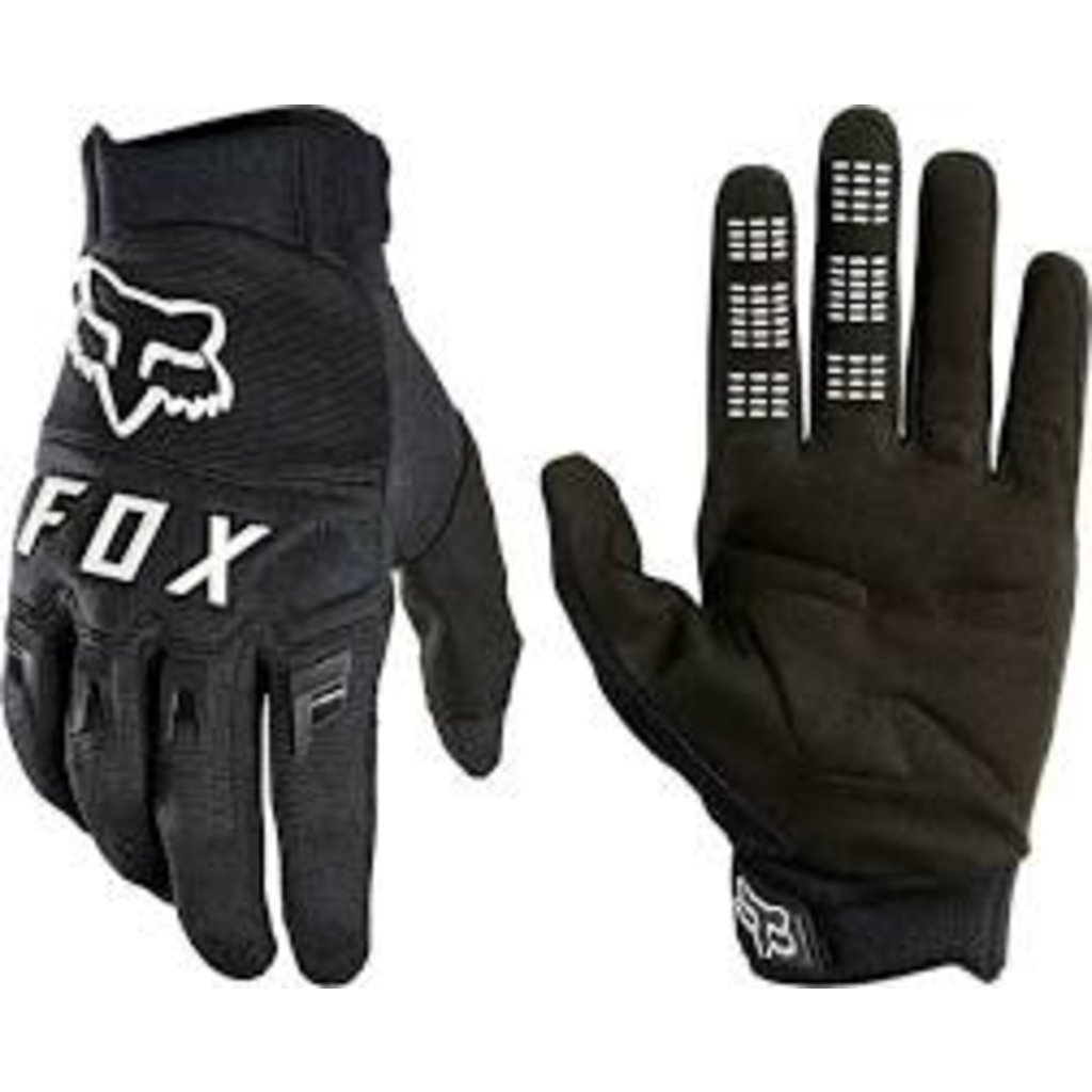 Fox Racing Fox Racing Dirtpaw Gloves - Black/White, Full Finger, Men's, X-Large