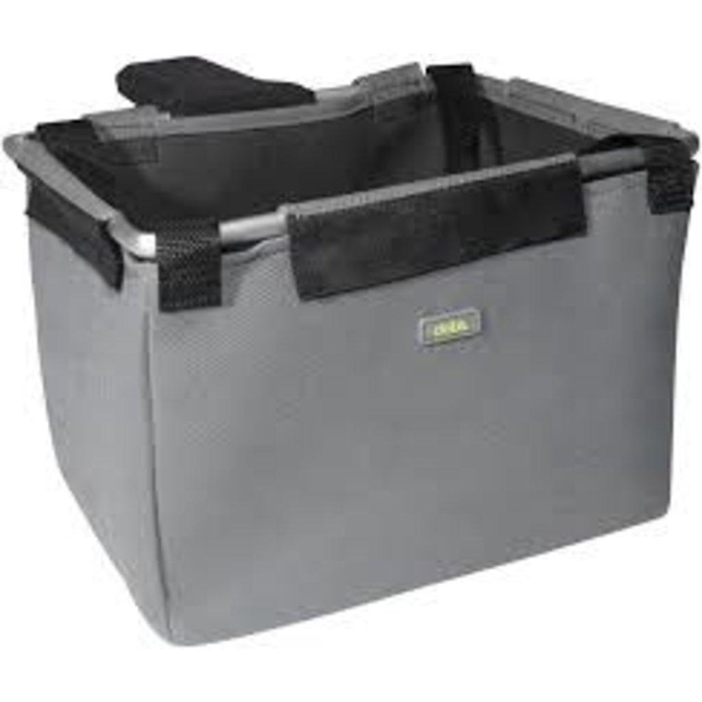 Delta Delta Front Basket/Bag - Gray