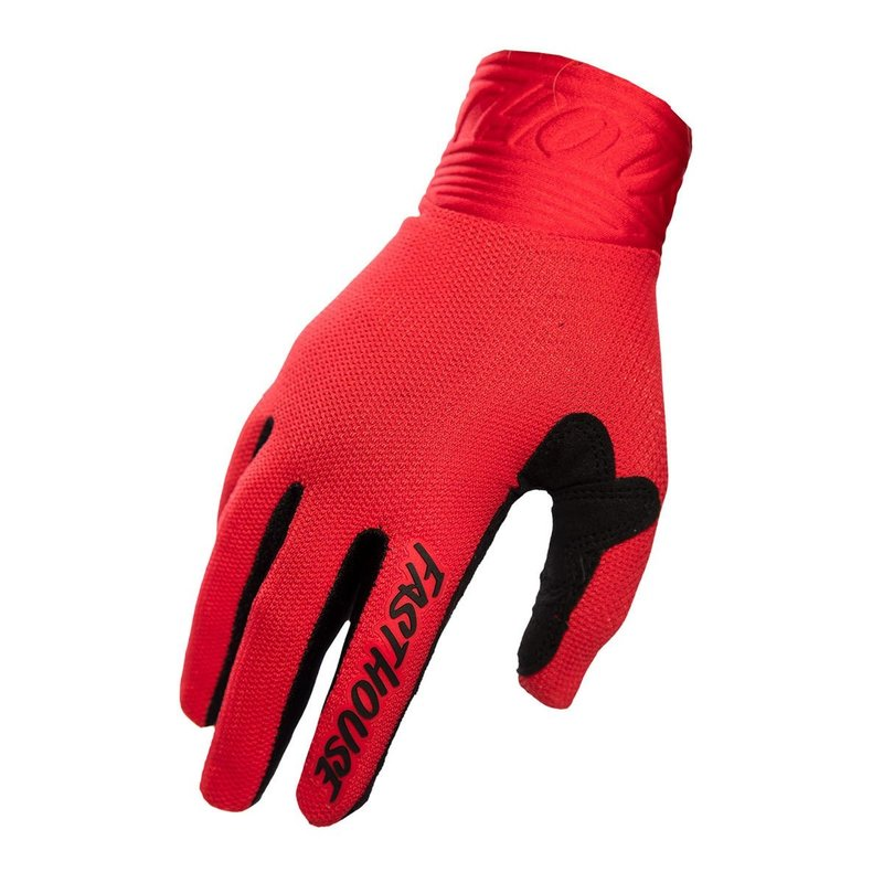 Fasthouse Wheeler Glove - Red